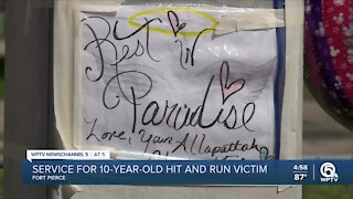 Viewing service for girl killed in Fort Pierce hit-and-run crash to be held Tuesday