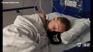 Tampa Bay area mom raises awareness after son's cancer relapse