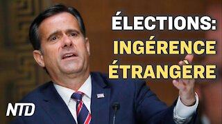Elections Américaines: l'ingérence étrangère; Des responsables de scrutin de Géorgie renvoyés