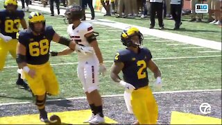 Michigan's Blake Corum, Brad Hawkins confident team can be special after 3-0 start