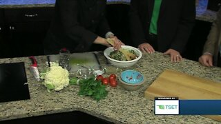 Shape Your Future Healthy Kitchen: Cauliflower Tabouli