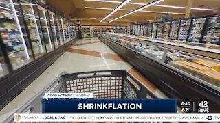 Watch out for 'shrinkflation'