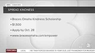 Win a $1,500 scholarship for being kind