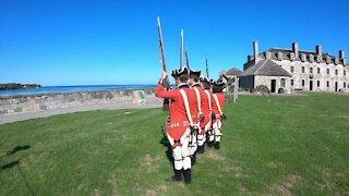 Old Fort Niagara Hosts a huge American Revolution Encampment