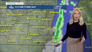 Tuesday mix of sun and clouds with chance for showers
