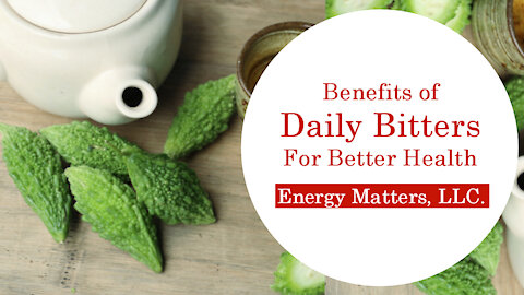 Benefits Of Daily Bitters For Better Health