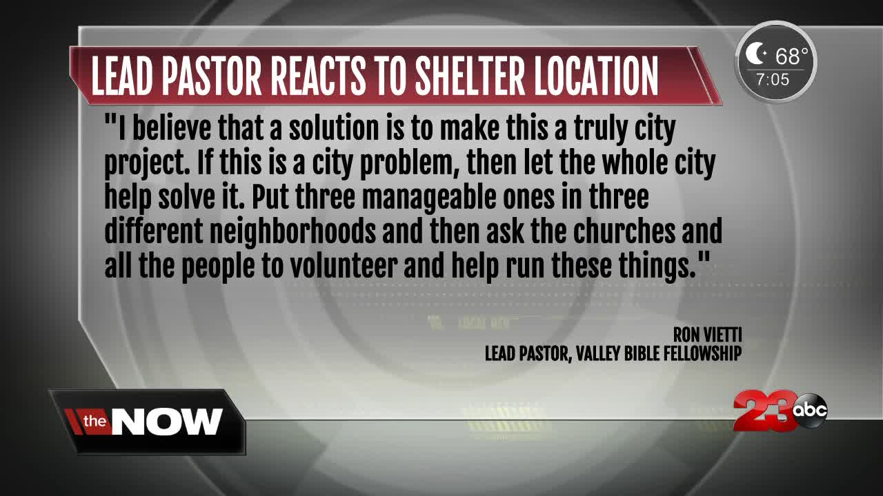 Local pastor speaks out about proposed homeless plans
