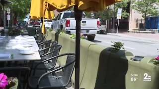Baltimore City extends outdoor dining street closure and outdoor seating relief programs