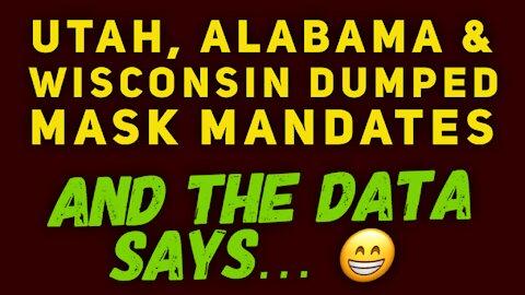 Utah, Alabama & Wisconsin ended mask mandates. What happened next?!