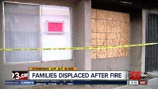 Larcus apartment fire