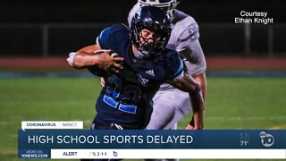 CIF: High school sports will be delayed, not canceled