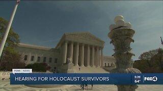Hearing for Holocaust survivors