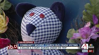 Johnson County church remembers three teenagers killed in rollover crash