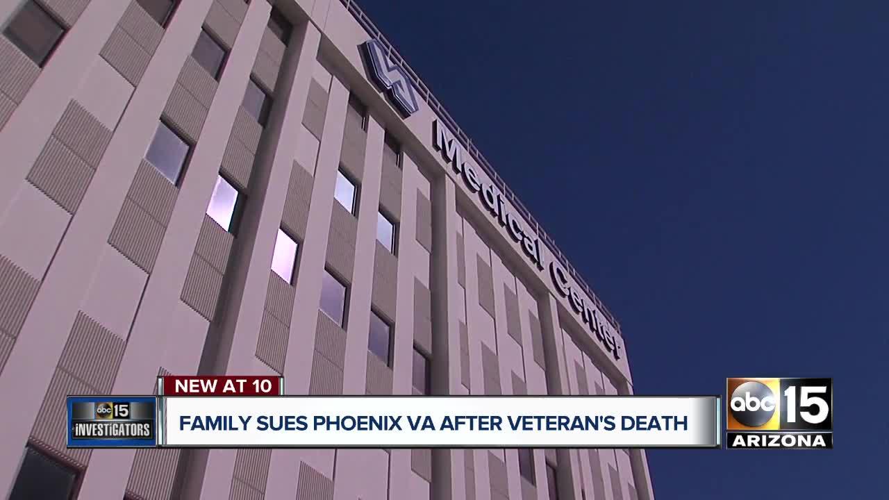Family sues VA after veteran's death