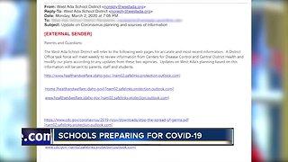 Schools preparing for COVID-19, no confirmed cases