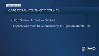 Cape Coral Youth Council taking applications