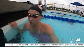 Swimmers hope to swim in future Olympics