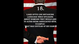 Deception Tip 18 - Distancing Language - How To Read Body Language