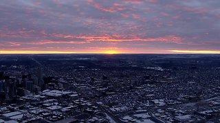 Tuesday morning sunrise and mountain shots
