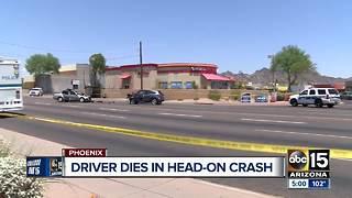 One killed in north Phoenix crash