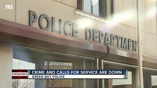 Green Bay Police 911 service calls are down 20%