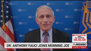 Fauci: We Shouldn't Accuse China Of A Lab Leak