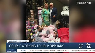 San Diego couple working to help local orphans
