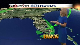 Rain Chances Increase Slightly into the Weekend