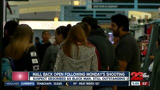 Valley Plaza Mall reopen following Monday's shooting injuring two men