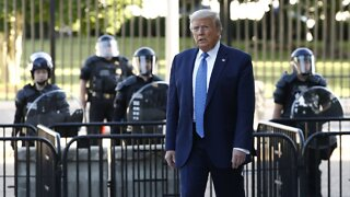 President Trump Aims To Use Active Duty Military Amid Unrest