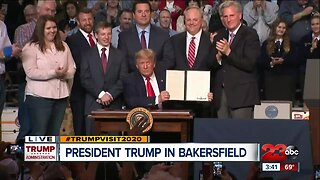 23ABC News Special Report: President Donald Trump Visits Bakersfield