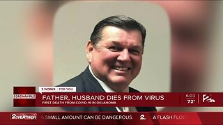 Father, husband dies from virus