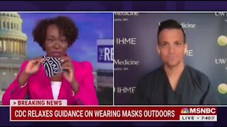 MSNBC's Joy Reid: I Jog With Two Masks While Fully Vaccinated