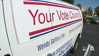 Palm Beach County leads state in mail-in ballots returned