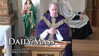 Fr. Richard Heilman's sermon for Friday, March 12, 2021