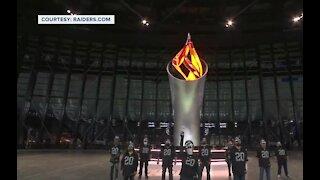 Las Vegas Raiders thanks those who built Allegiant Stadium