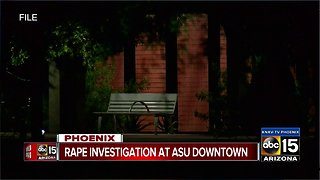Police searching for suspect after sexual assault near ASU Downtown Campus