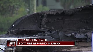 4 people injured after boat explosion in Largo, authorities say