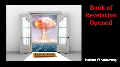 Book of Revelation Opened - Herbert W Armstrong - Radio Broadcast