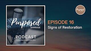 Signs of Restoration