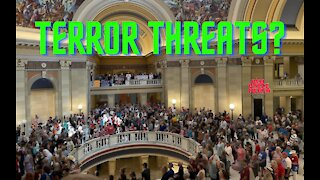 Vaccine Mandate Protest In OK, 100's Of 'Potential Terror Threats' Show Up And Then This Happens