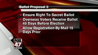 Proposal 3 could change the way you vote
