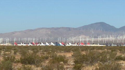 Airplane Graveyard Mojave Desert