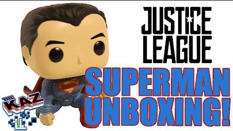 Funko POP! Movies: DC Justice League – Superman Unboxing
