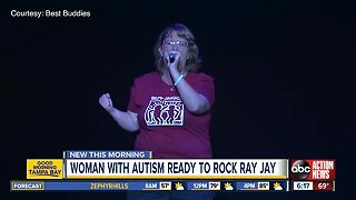 Tampa woman with autism to sing at Raymond James Stadium to celebrate people with disabilities