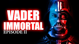 Oculus Quest 2 - Beginner Tries Vader Immortal Episode 2 VR