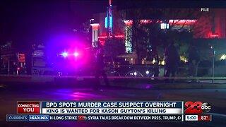 BPD spots murder case suspect overnight