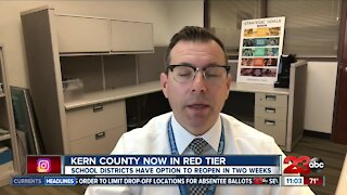 Kern County schools can reopen at the end of the month