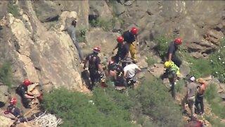 2 women injured in rockfall in Clear Creek Canyon