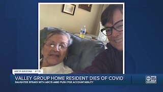 Valley woman loses mother in group home to COVID-19